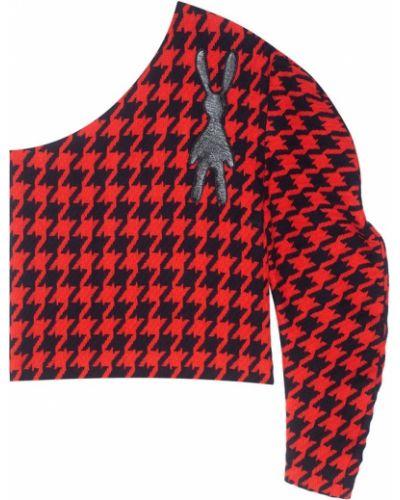 Шерстяной с рукавами черный пуловер A.w.a.k.e.