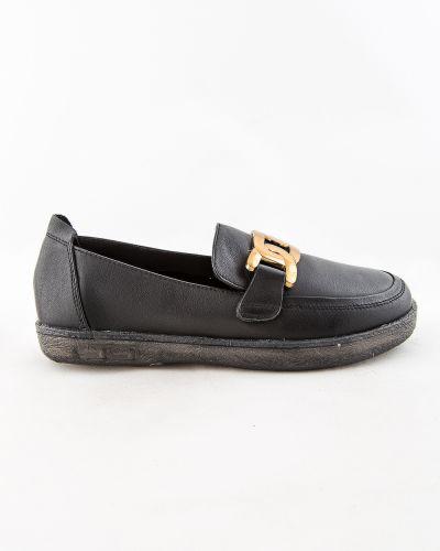 Черные зимние туфли Sidestep