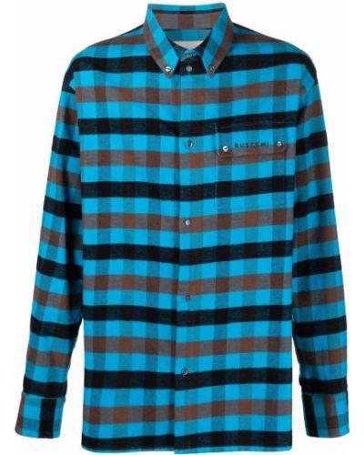 Niebieska koszula bawełniana Buscemi