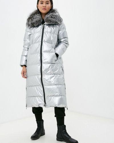 Серебряная зимняя куртка Conso Wear