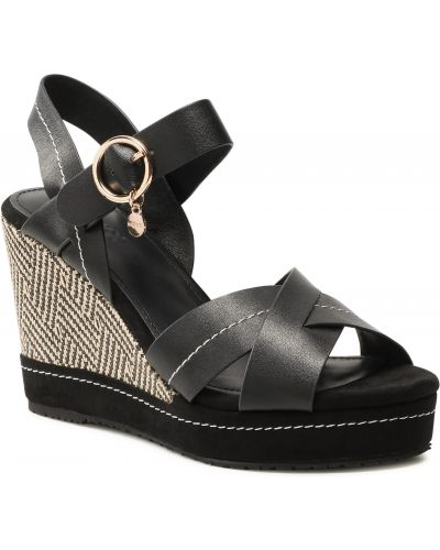 Sandały espadryle - czarne Mexx