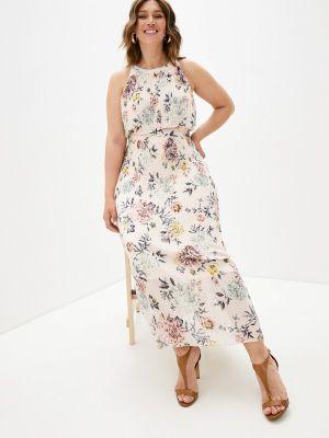 Повседневное розовое платье Zizzi