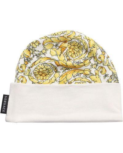 Bawełna bawełna kapelusz Versace