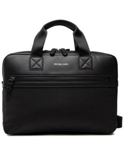 Czarna torba na laptopa Michael Michael Kors