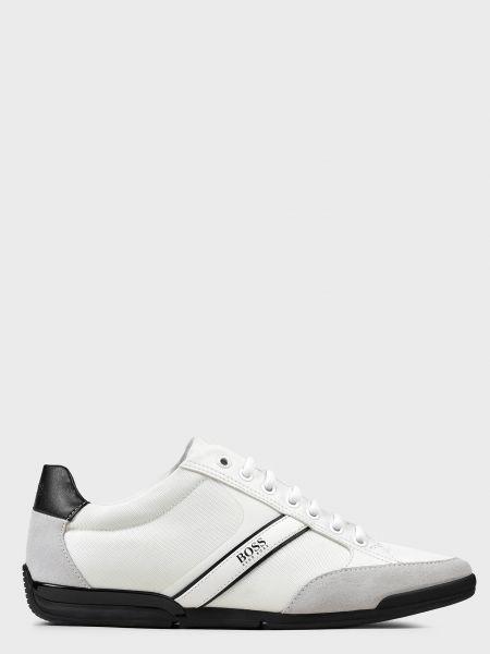 Кожаные кроссовки - бежевые Hugo Boss