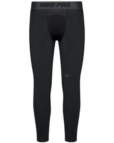 Czarne legginsy do koszykówki Nike