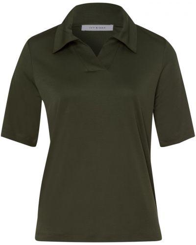 Zielony t-shirt Ivy & Oak