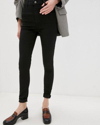 Черные джинсы-скинни узкого кроя Topshop