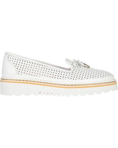 Кожаные туфли - белые Lab-milano