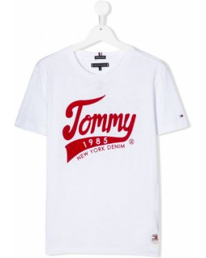Рубашка белая на шею Tommy Hilfiger Junior