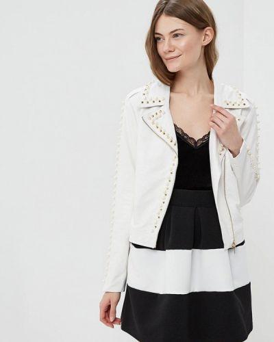 Белая куртка весенняя Rinascimento