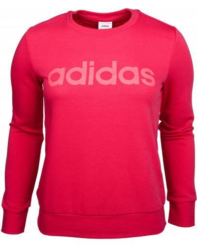 Bawełna różowy bluzka z długimi rękawami Adidas