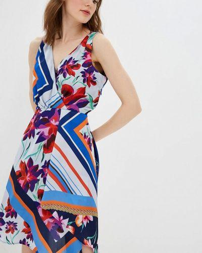 Платье с запахом весеннее Morgan