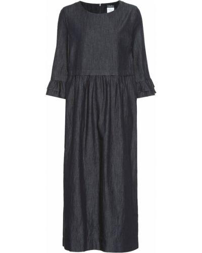 Платье миди джинсовое из штапеля 's Max Mara