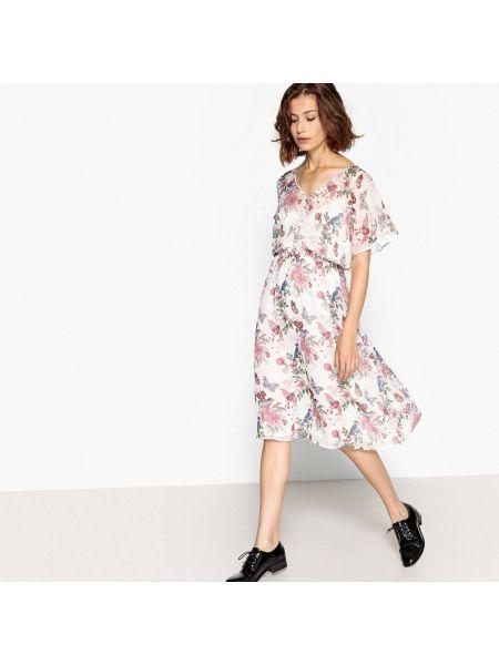 Платье миди мини с цветочным принтом Pepe Jeans