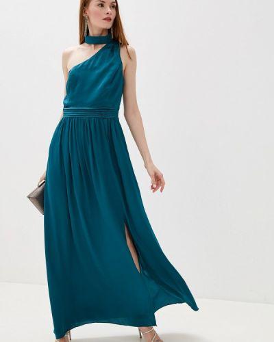 Вечернее платье бирюзовый осеннее Little Mistress