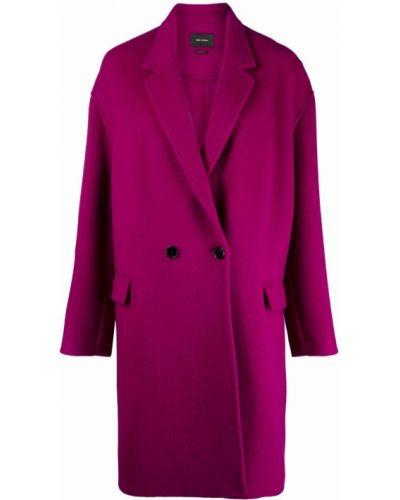 Розовое кашемировое пальто Isabel Marant étoile