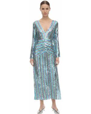 Платье миди с открытой спиной с V-образным вырезом Rixo