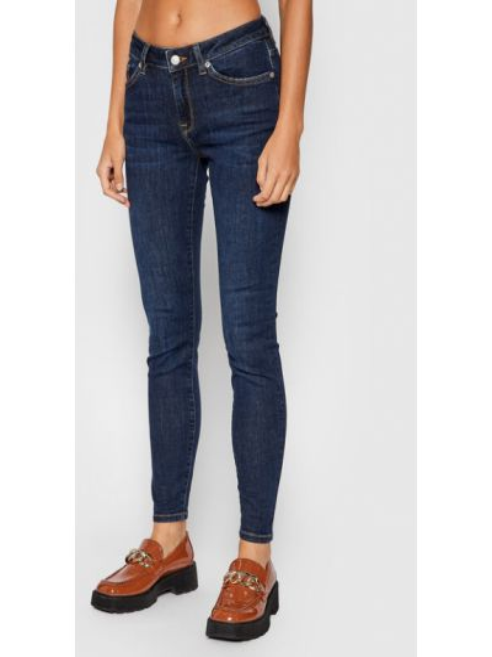 Mom jeans - granatowe Selected Femme