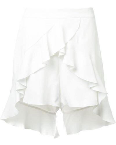 Белые шорты с оборками Goen.j