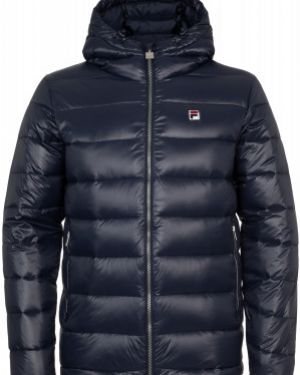 Куртка с капюшоном утепленная Fila