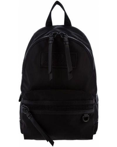 Черный текстильный рюкзак на молнии Marc Jacobs