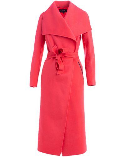 Czerwony płaszcz Mackage