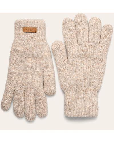Перчатки бежевые акриловые Barts