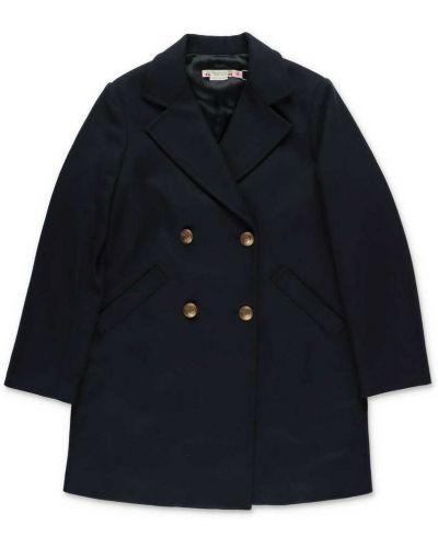 Niebieski płaszcz Bonpoint