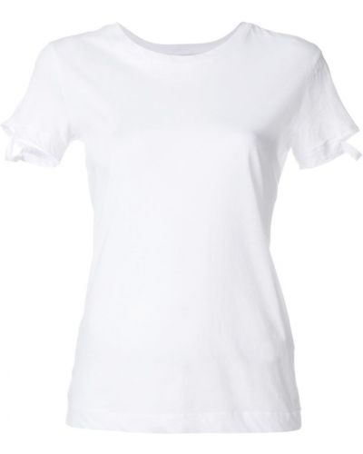 Рубашка с коротким рукавом хлопковая с вырезом Thom Krom