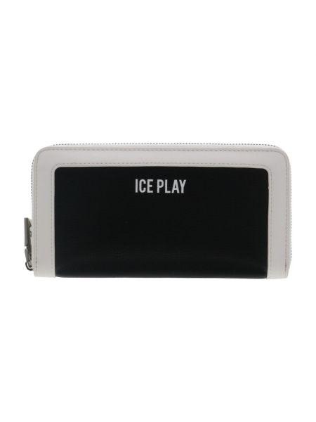 Czarny portfel Ice Play