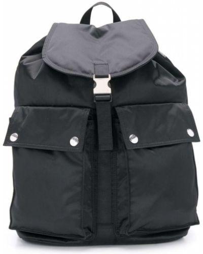 Рюкзак черный с завязками Porter