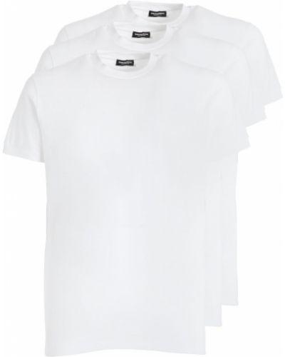 Biały t-shirt bawełniany Dsquared2 Underwear