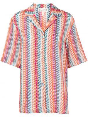 Рубашка с принтом Saloni