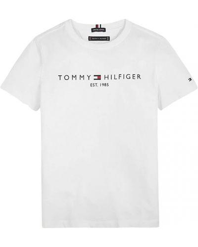 T-shirt z haftem krótki rękaw Tommy Hilfiger