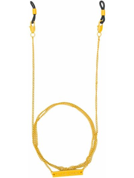 Żółte okulary Frame Chain