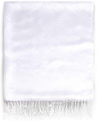 Biała szal Allora