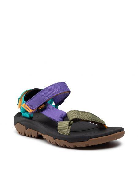 Zielone sandały casual Teva
