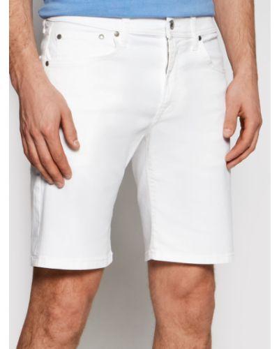 Szorty jeansowe - białe Pepe Jeans