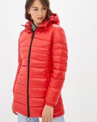 Зимняя куртка осенняя красная United Colors Of Benetton