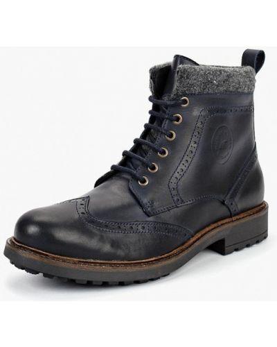 Ботинки осенние кожаные высокие Storm