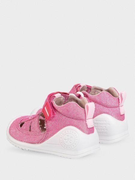 Кожаные сандалии - розовые Biomecanics
