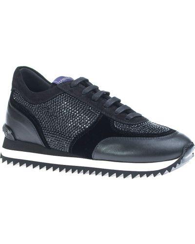 Черные кроссовки Le Silla
