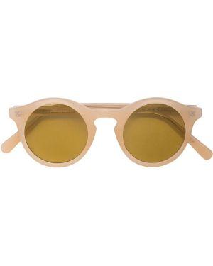 Муслиновые солнцезащитные очки круглые The Celect