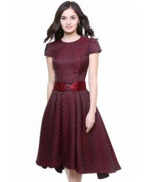 Вечернее платье бордовый красный Olivegrey