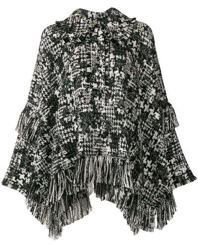 Накидка белый черная Dolce & Gabbana