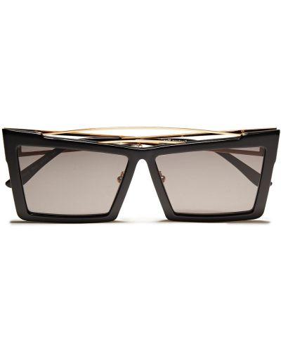 Czarne złote okulary Self-portrait