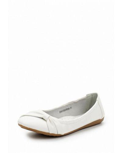 Белые балетки Zenden Collection