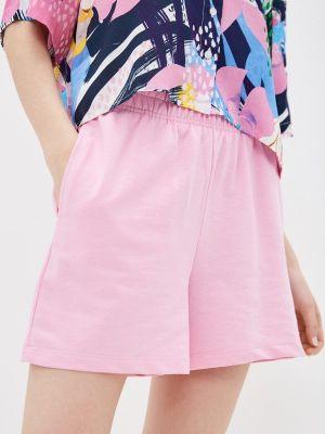 Повседневные розовые спортивные шорты Defacto