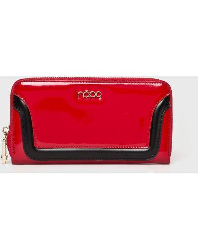 Красный кошелек на молнии Nobo